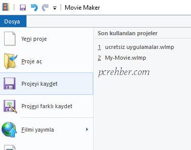 Windows Movie Maker Türkçe Nasıl Yapılır