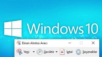 Windows 10 Ekran Görüntüsü Nasıl Alınır