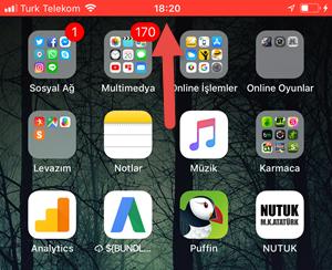 ekran videosu çekme iphone