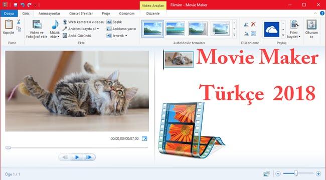 movie maker türkçe son sürüm indirin