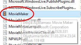 Windows Movie Maker Key Sorunu Giderme Kalıcı ve Kesin Çözüm