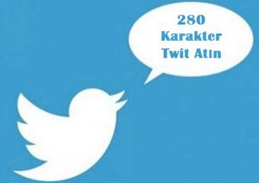 twitter 280 karakter kullanmak