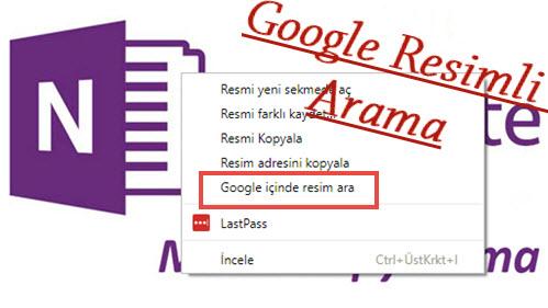 google resimli arama