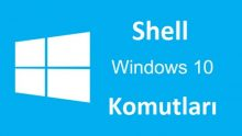 Windows 10 Shell Komutları