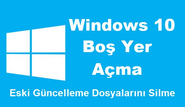 windows 10 yer açma