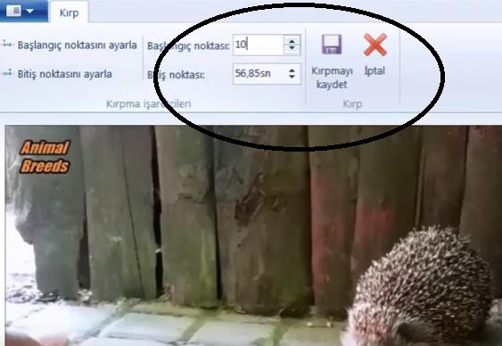Video Maker programında video nasıl kesilir