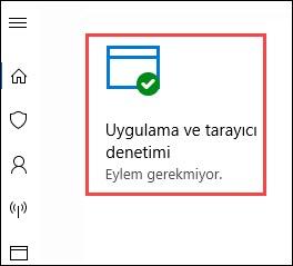 SmartScreen kapatma