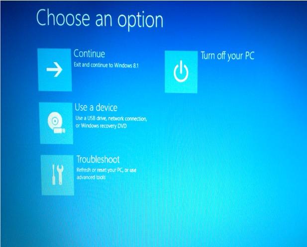Windows 10 da biosa nasıl girilir