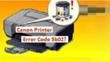 Canon  5b02 hatası nedir