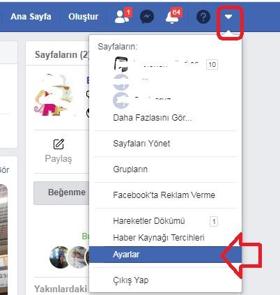 Facebookta silinen mesajları geri getirme telefondan