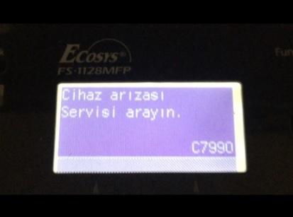 Kyocera c7900 hatası