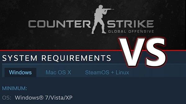 CS: GO Sistem Gereksinimleri