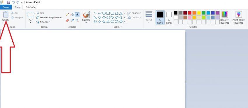 Bilgisayarda ekran görüntüsü nereye kaydedilir