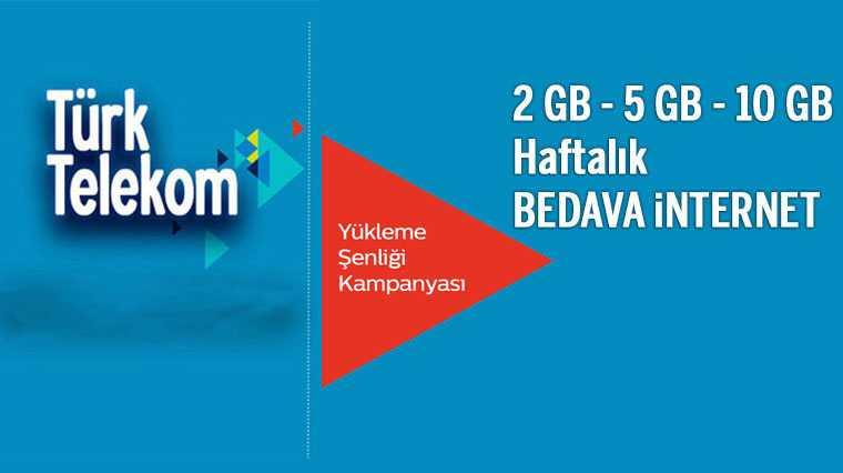 Türk telekom beleş internet