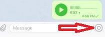 Telegram ses kaydı gönderme